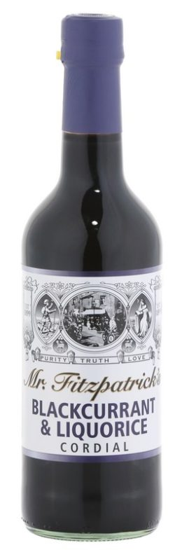 Mr Fitzpatrick's Blackcurrant and Liquorice Cordial