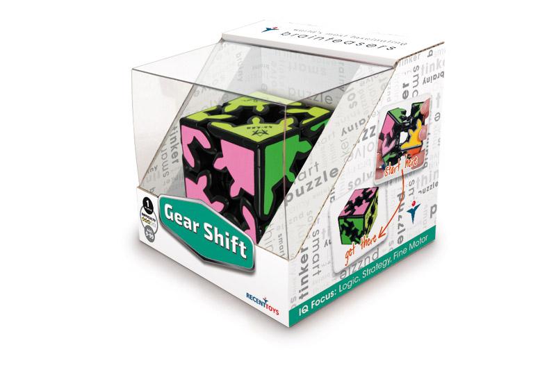 Gear Shift - World's Most Fascinating Brainteaser
