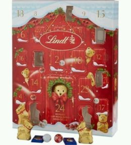 Lindt Teddy Bear Adorable Advent House 250g